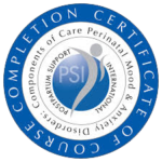 Post Partum Support International Certificate of Course Completion